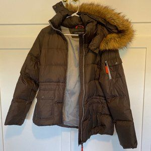 Marc by Marc Jacobs Winter Jacket with Faux Fur